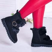 Тёплые ботиночки в стиле UGG