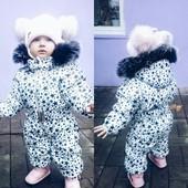 Детский зимний комбинезон 80-98 р Отличное качество!