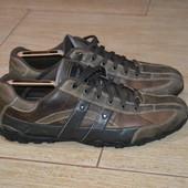 Skechers 45р туфли  мокасины  кроссовки кожаные Оригинал.