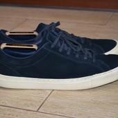 Next 46р туфли мокасины кожаные, качество Converse, сникерсы