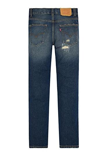 Модные потертые брендовые джинсы levi's на мальчика 7лет в наличии, новые фото №2