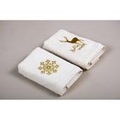 Набор кухонных полотенец Barine - Winter Gold 30*50