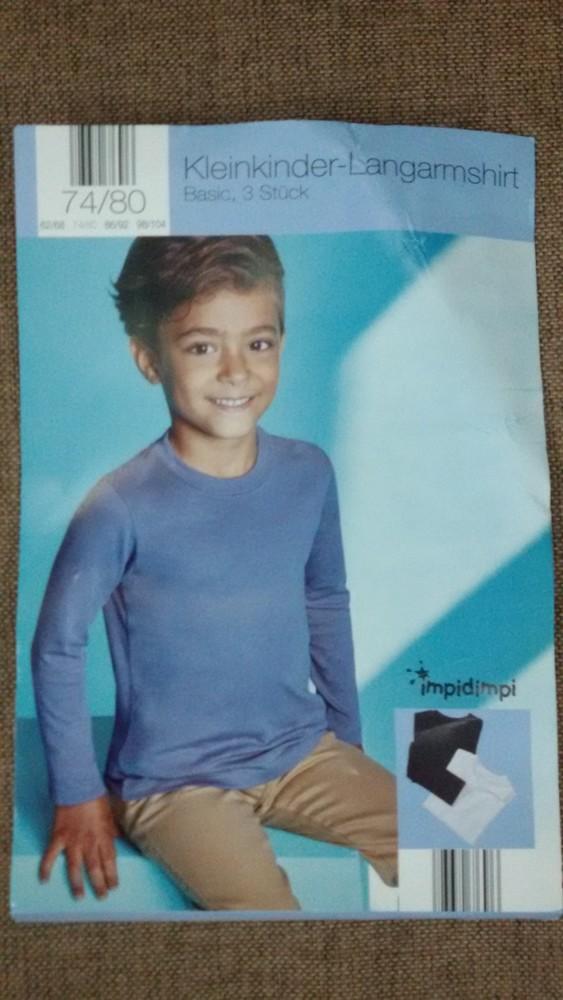 Хлопковые кофточки (комплект 3 шт) от impidimpi, рост 74-80 фото №1