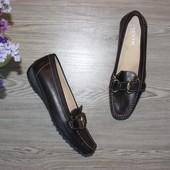 37 24,5см geox кожаные мокасины туфли
