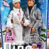 Набор кукол Defa Дефа с Кеном, Семья в зимней одежде