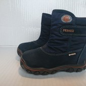 В новом сост термо ботинки 23р Primigi Gore-Tex Италия Оригинал