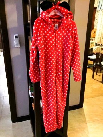Пижама флисовая сдельная disney минни маус теплый слип для девочки 8-12 лет  фото № 3c1cb3b4518f3
