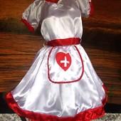 Платье маскарадное Медсестра секси ролевые игры