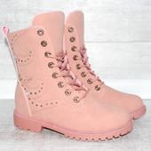 Женское ботинки, зима
