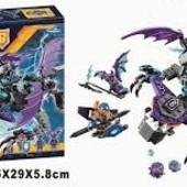 Конструктор Bela nexo knights нексо найт 10702 летающая Горгулья, 335 дет. (аналог lego 70353)