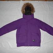 р. 152 158 164 очень теплая  зимняя куртка Everest, Швеция, термокуртка, лыжная куртка парка