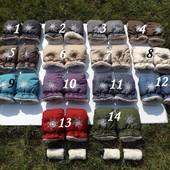 Муфти для коляски з лляної тканини
