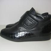 Ботинки Ara 39р 25см утепленные Кожа