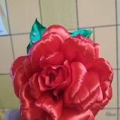 Обруч, украшение на голову роза