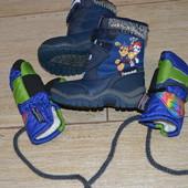 George Thinsulate 22р сапожки ботинки зимние и перчатки варежки. 2016г