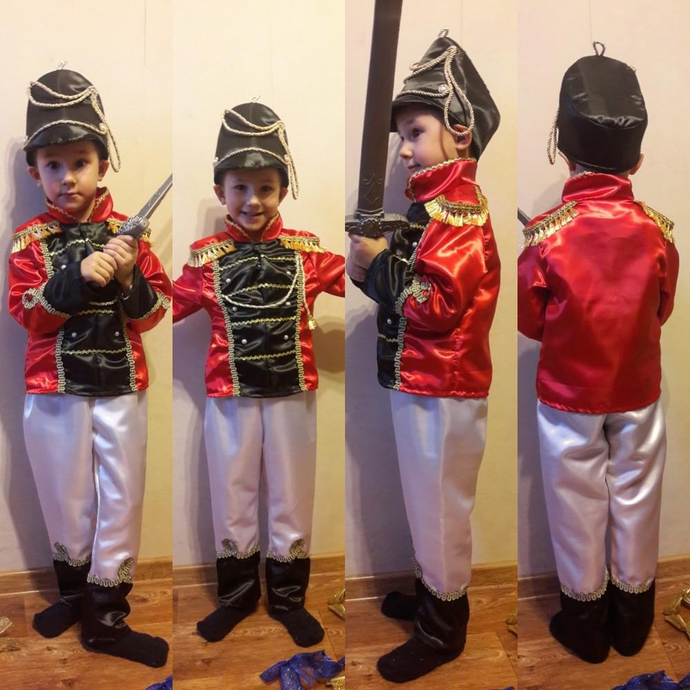 Гусар.карнавальный костюм.110-122см. фото №1