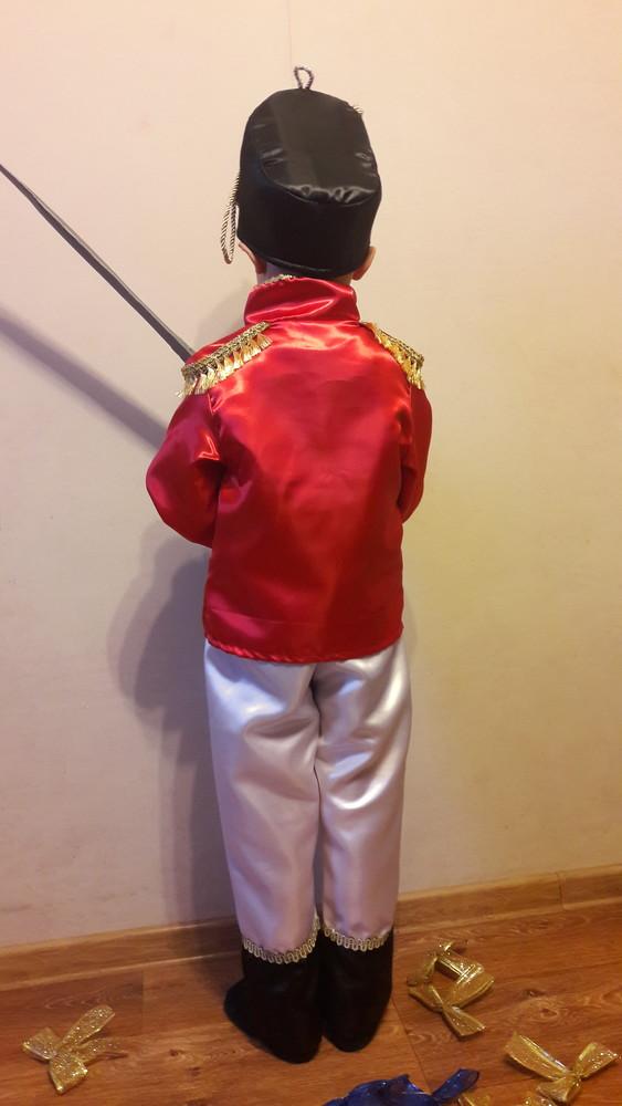 Гусар.карнавальный костюм.110-122см. фото №3