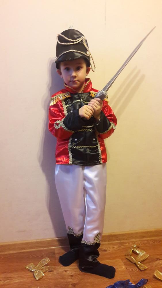 Гусар.карнавальный костюм.110-122см. фото №4