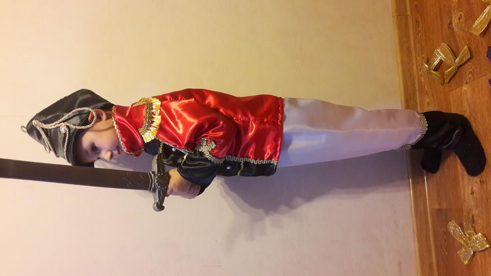Гусар.карнавальный костюм.110-122см. фото №6