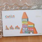 Cubika деревянный эко конструктор Сказочный город LKM-1