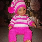 вязаная одежда для кукол/ одяг для ляльок Baby Born в наличии