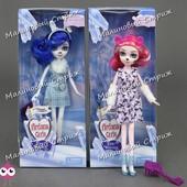 Кукла DH 2130 Ever after high «Заколдованная зима» снежная фея вероникаб veronicub, расческа