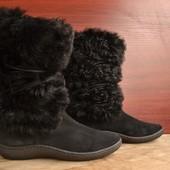 -Banana Republic -прошитая подошва -крутейшие зимний ботинки -заказывали себе, немного велики  -разм
