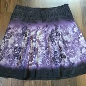 Marc Aurel юбка шелк с рисунком кружево, р-р 42