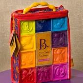 Развивающие кубики Battat Посчитай-ка! 10 кубиков, в сумочке