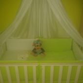 Детская кроватка Верес Соня ЛД 12, цвет слоновая кость.