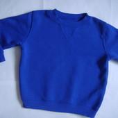 реглан утепленный, свитер мальчику 4-5лет Matalan