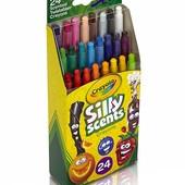 24 ароматизированных восковых карандашей Crayola