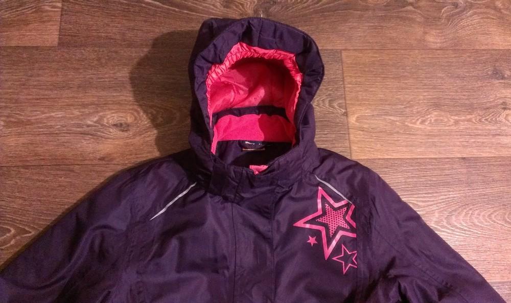 Р.146-152, яркая термо-куртка, на 11-12 лет фото №1