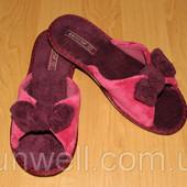 Женские домашние тапочки Белста с открытым носком Бант р-р 37-41