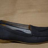 Легенькие мягкие фирменные туфельки в мокасинном стиле Gabor 6 1/2 р.