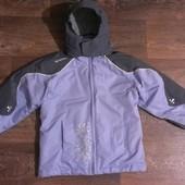 качественная термо-куртка, аналог Reima, как новая, р. 146-164