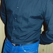 Брендовая нарядная стильная рубашка Smog (смог).л .