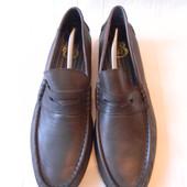 Муж.кожаные туфли Genuine р.44 ст.30см