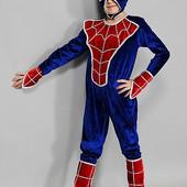 Детские карнавальные костюмы Человек- Паук, возраст 4- 7 лет