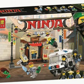 Конструктор Ninjago 10714 ограбление киоска в Ниндзяго Сити, ниндзяго