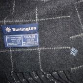 Burlington тёплый шарф 100% шерсть Италия