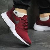 Мужские кроссовки Nike Air Presto Fly Uncaged burgundy