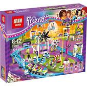 """Конструктор Friends Lepin 01008 """"Парк развлечений Американские горки"""" ,1124 дет."""