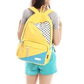 Рюкзак желтенький очень удобный.