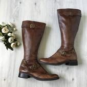 Фирменные кожаные сапоги Big Тramp, размер 39-40
