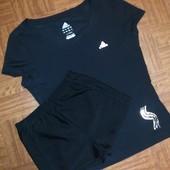 Комплект Adidas (Адидас) для фитнеса, тренажёрного зала и  спорта