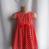 Платье H@M на 12-18 мес, рост 86, 100% хлопок