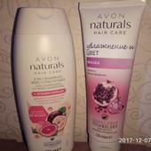 Набор, шампунь 2в1витамины+маска д/окрашенных волос, от эйвон