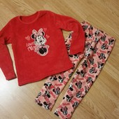 Теплая пижама для девочки р.122-128