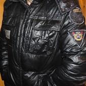 Брендовий стильний спортивний пуховик курточка  Famous Club л-хл .